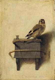 puttertje van Carel Fabritius